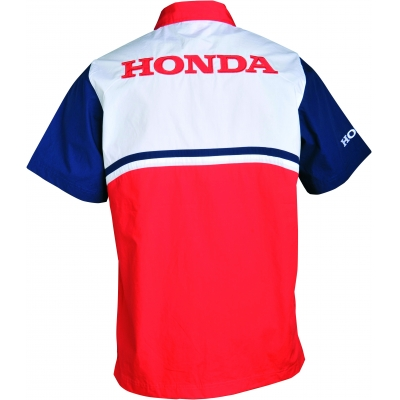 HONDA košile RACING 16 red/white/blue