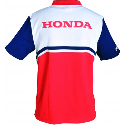 HONDA triko POLO RACING 16 red/blue/white