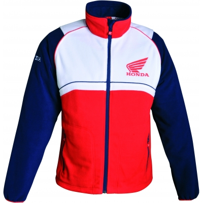 HONDA mikina FLEECE RACING 16 red/white/blue