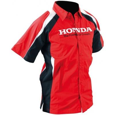 HONDA košile RACING 10 dětská red/black/white