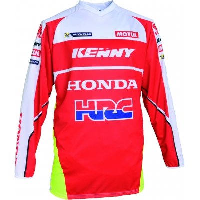 HONDA dres HRC Rallye red/white/yellow