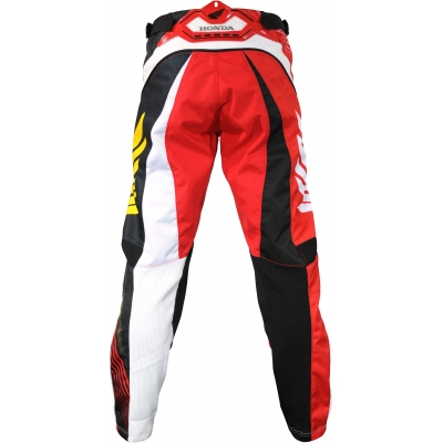 HONDA kalhoty CROSS 14 red/white/black/yellow