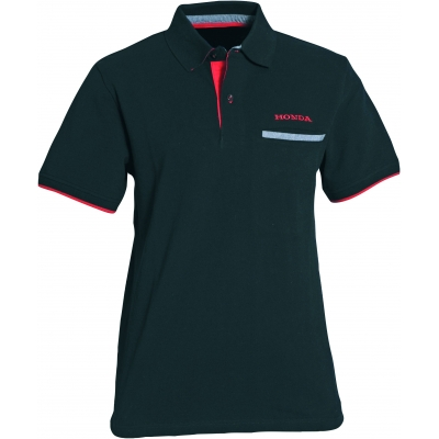 HONDA triko CORPORATE POLO 17 black