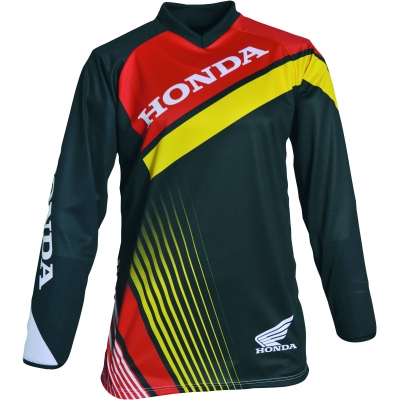 HONDA dres MX 17 black/red/yellow/white