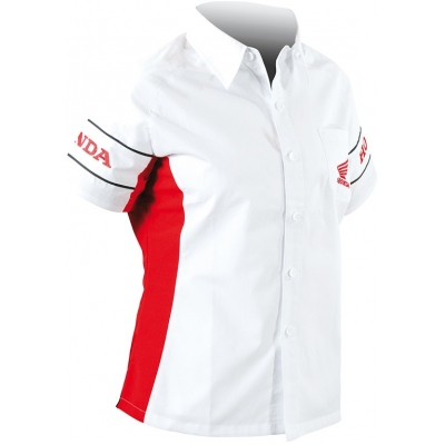 HONDA košile EXPERT dámská white/red