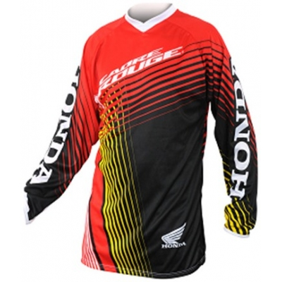 HONDA dres CROSS dětský black/red/yellow/white
