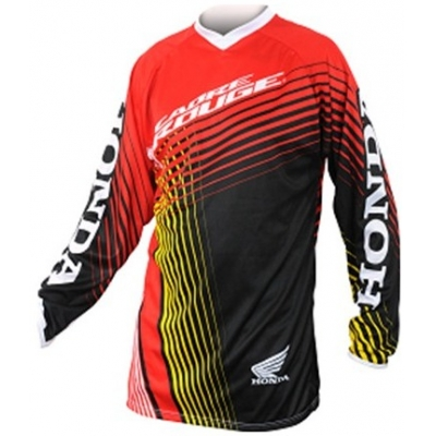 HONDA dres CROSS 14 black/red/yellow/white