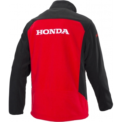 HONDA mikina FLEECE RACING 18 black/red