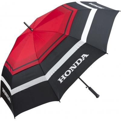 HONDA deštník 18 black/white/red
