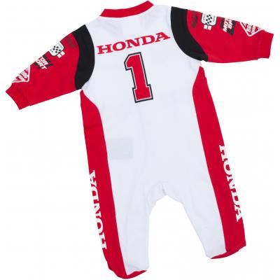 HONDA dupačky RACING 18 dětské white/red/black