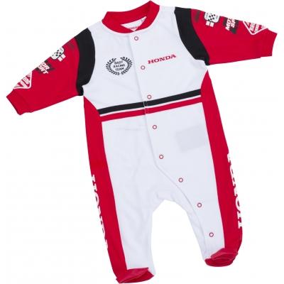 HONDA dupačky ROMPERS dětské white/red/black
