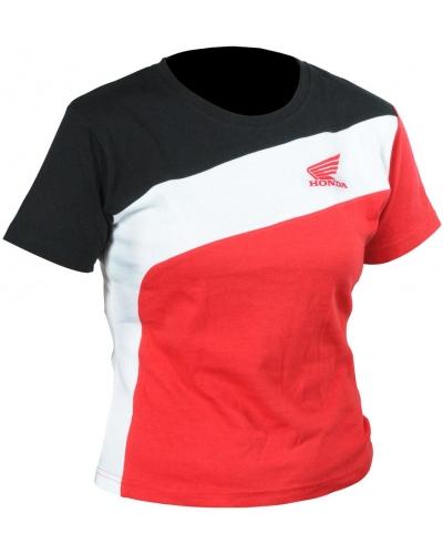 HONDA triko RACING 13 dámské black/white/red
