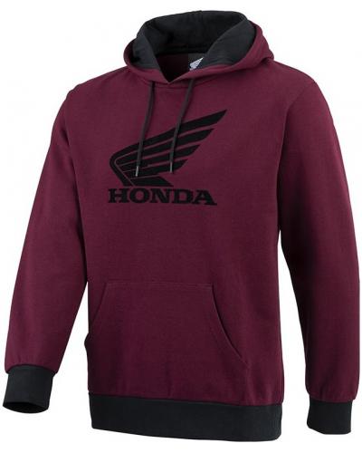 HONDA mikina SPORT Hood 21 burgundy