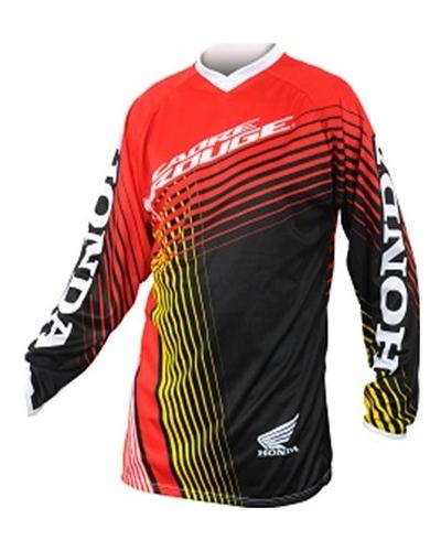 HONDA dres CROSS 14 black/red/yellow/white