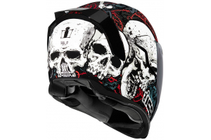 ICON prilba AIRFLITE Skull18 black