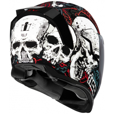 ICON přilba AIRFLITE Skull18 black