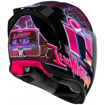 ICON prilba AIRFLITE Synthwave pink / black