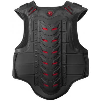ICON chránič hrudi STRYKER black/red
