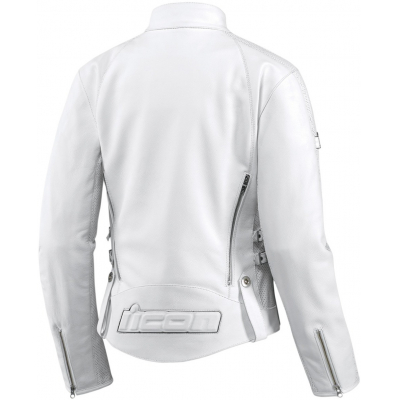 ICON bunda HELLA Leather dámská white