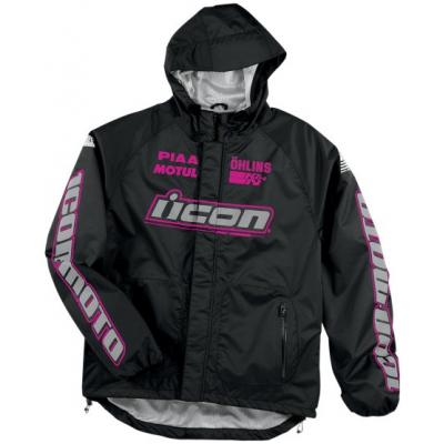 ICON bunda nepromok PDX dámská black/pink