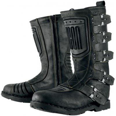 58177620e85 ICON boty 1000 ELSINORE dámské black
