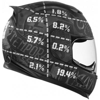 ICON přilba AIRFRAME Statistic black