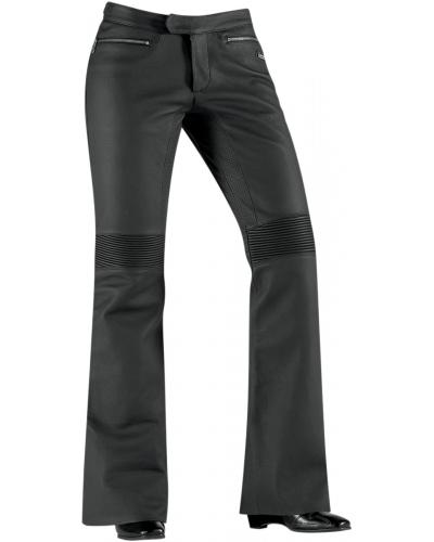 ICON kalhoty HELLA Leather dámské black