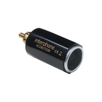 INTERPHONE DIN adaptér Interphone z malej motocyklovej zásuvky na automobilovú, slim prevedenie