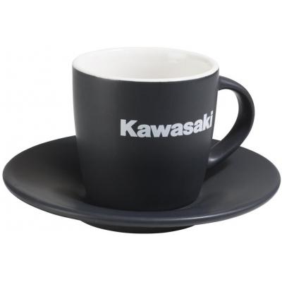 KAWASAKI šálek s podšálkem black