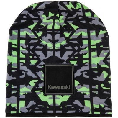 KAWASAKI čepice CAMO black/green