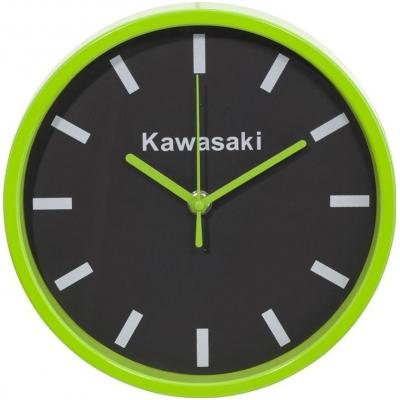 KAWASAKI nástěnné hodiny green