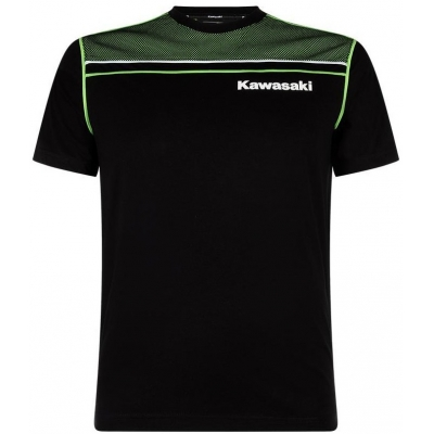 KAWASAKI tričko SPORTS black / green