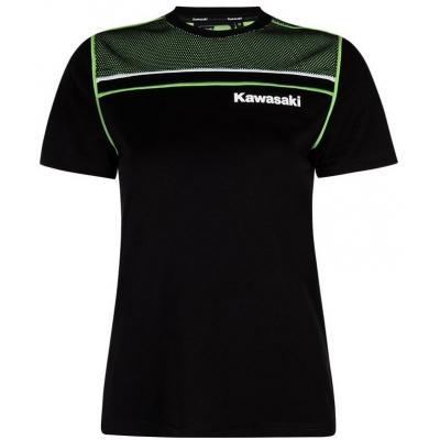 KAWASAKI tričko SPORTS dámske black / green