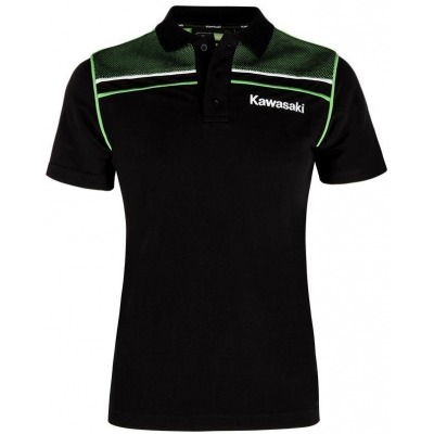 KAWASAKI polo triko SPORTS dámské black/green