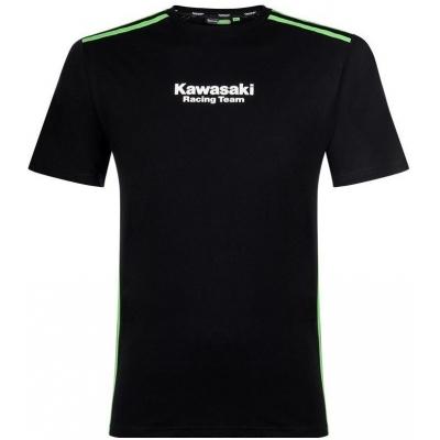 KAWASAKI tričko KRT black / green