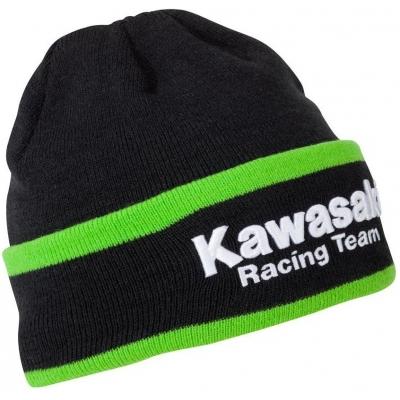KAWASAKI čepice KRT black/green