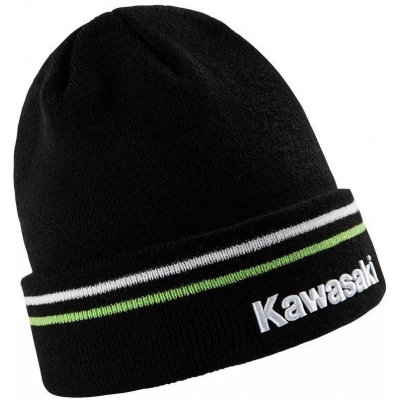 KAWASAKI čepice SPORTS black/green