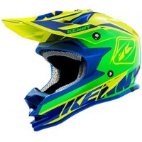 KENNY přilba PERFORMANCE 15 blue/green/yellow