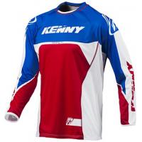 KENNY dres TITANIUM 15 blue/wht/red