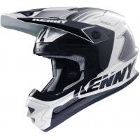 KENNY přilba TRACK 16 black/white/grey