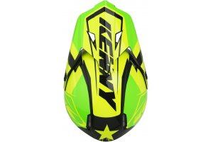 KENNY přilba TRACK 19 green/neon yellow