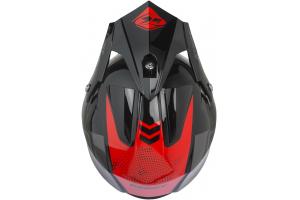 KENNY prilba TRIAL AIR 19 black/red