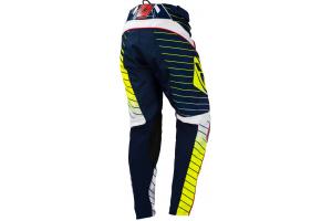 KENNY kalhoty PERFORMANCE 16 dětské blue/neon yellow