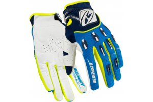 KENNY rukavice TITANIUM 16 blue/neon yellow