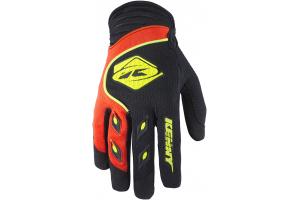 KENNY rukavice TRACK 17 black/neon orange