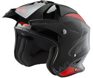 KENNY přilba TRIAL AIR 19 black/red
