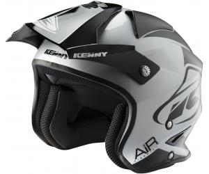 KENNY prilba TRIAL AIR 19 black/silver