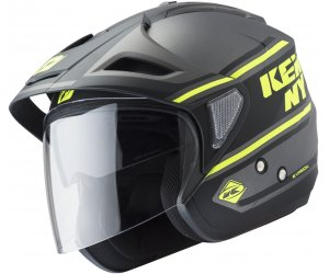 KENNY prilba EVASION 19 black/neon yellow