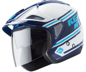 KENNY prilba EVASION 19 white/blue navy