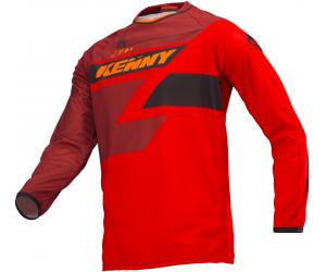 KENNY dres TRACK 19 detský full red